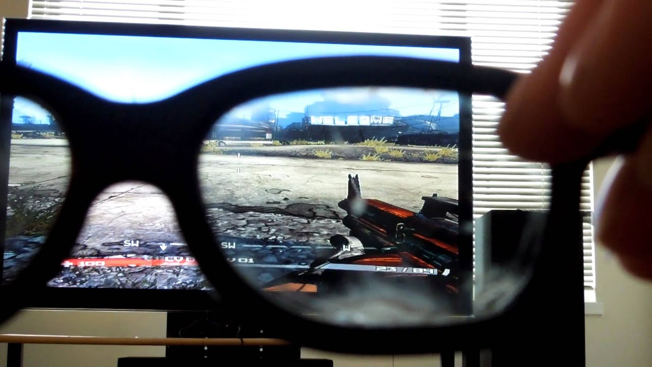How to make 3D tv split screen video games full screen ...