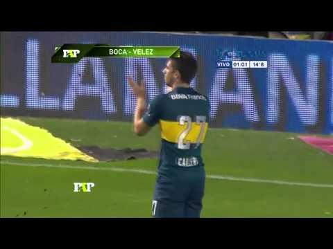 Boca Juniors 3 - Vélez 1 / Paso a Paso