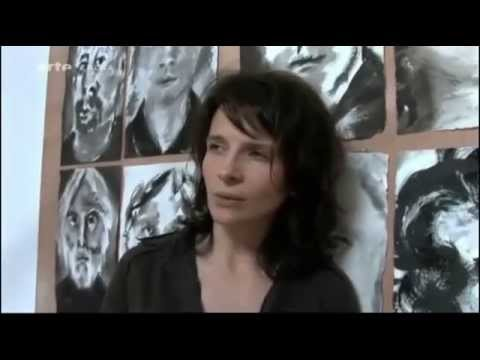"""Juliette Binoche dans les yeux""  (2009),  Marion Stalens"