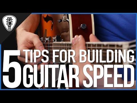 Lesson Guitar - Speed Exercises