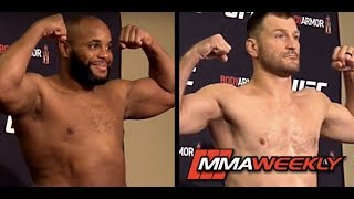 UFC 241 Official Weigh-in: Daniel Cormier vs Stipe Miocic