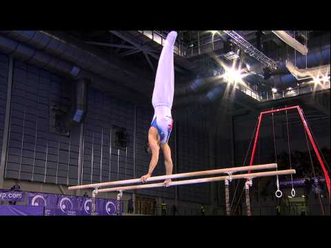 Kristian Thomas (GBR) Parallel Bars