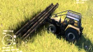 Spin Tires 2013 - URSUS TIMBER/FOREST TRACTOR