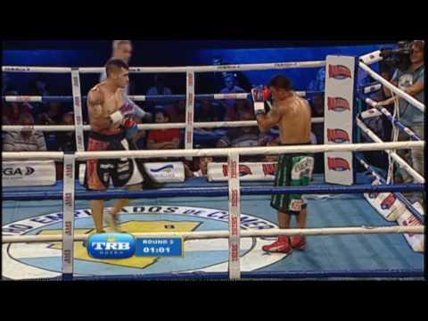"""SERGIO """"CHECHO"""" LOPEZ vs ANDRES AMARILLA - TRB BOXEO 9/12/2016"""