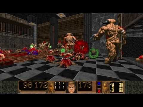 Doom 2 Monster-infightings in Epic 2 Playthrough