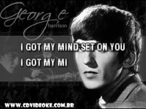 George Harrison   Got My Mind Set On You