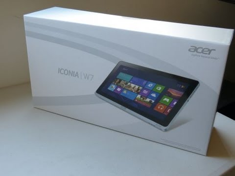 Acer Iconia W700 Windows 8 Tablet Unboxing and Review - http://techblog.tv