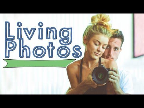 Living Photos • A Photography Experiment