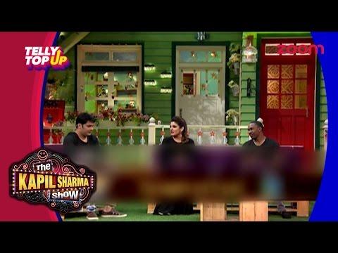 Dwayne Bravo & Raveena Tandon On 'The Kapil Sharma Show'   #TellyTopUp