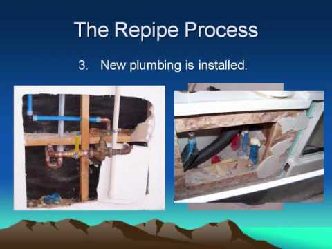 How To Repipe A House Youtube