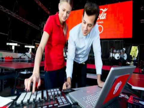 Mark Ronson feat. Katy B - Anywhere In The World - Coca Cola Olympic Games 2012