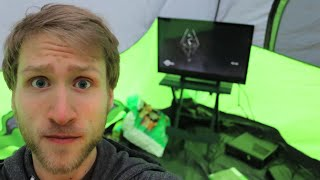 BUILDING THE GAMING LAIR!