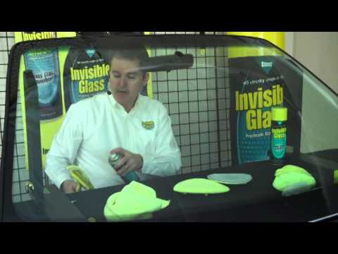 How to Clean Your Windshield With Invisible Glass