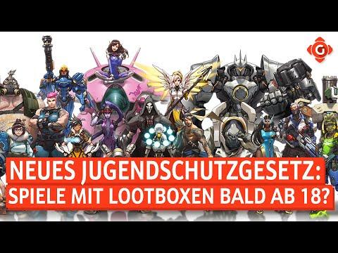Neues Gesetz: Spiele mit Lootboxen ab 18? Fortnite: Erste Singleplayer-Mission! | GW-NEWS