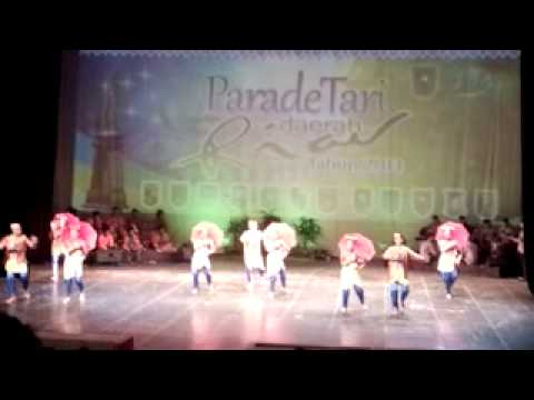 Parade Tari Daerah Riau - Tembilahan, Kab. Indragiri Hilir video
