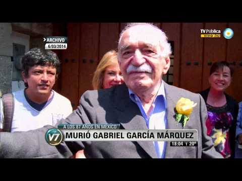 Visión 7: Murió Gabriel García Márquez a los 87 años en México