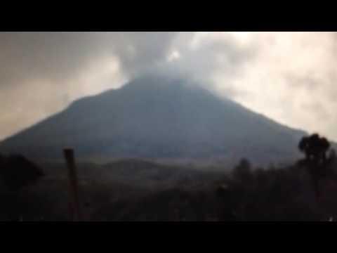 BREAKING: Indonesia Volcano Mount Sinabung Erupts 7 Dead
