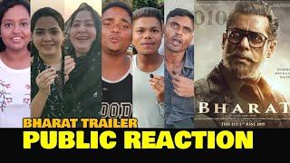 Bharat Trailer PUBLIC REACTION | Salman Khan, Katrina Kaif, Disha Patani | Ali Abbas Zafar| Eid 2019