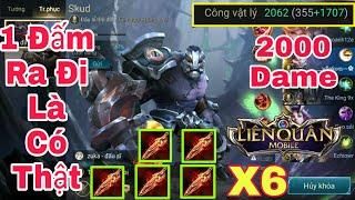 Liên Quân | Troll Game Cùng Trùm Dame Tay Skud - Lên Full Nanh Fenrir - 1 Đấm Chết Luôn Là Có Thật !