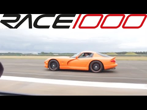 Dodge Viper GTS vs. BMW M6 V10 (60-260kmh) ROLL RACE