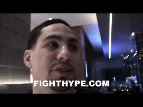 DANNY GARCIA DISCUSSES LAMONT PETERSON CLASH; EXPLAINS WHY IT'S AT A 143 CATCHWEIGHT