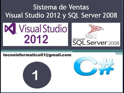 Sistema de Ventas Visual Studio SQL Server 2008 (1-16) WindowForm CSharp   Tutorial 2014