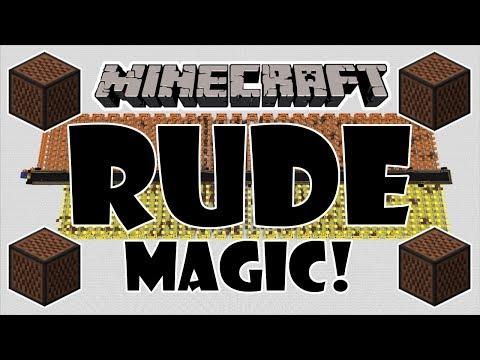 ♪ [FULL SONG] MINECRAFT Rude by MAGIC! in Note Blocks w/Lyrics ♪