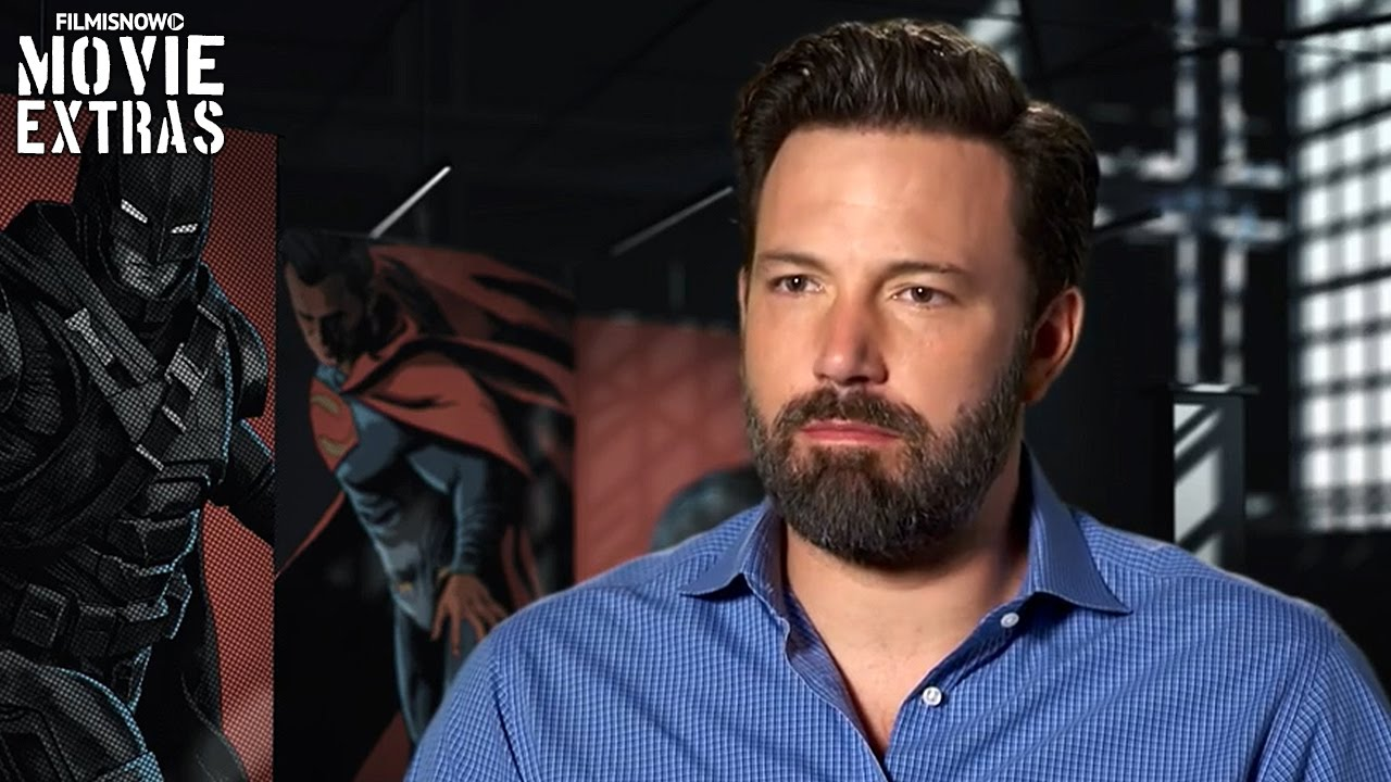 Batman v Superman: Dawn of Justice | Ben Affleck is 'Batman/Bruce Wayne' [On-Set Interview]