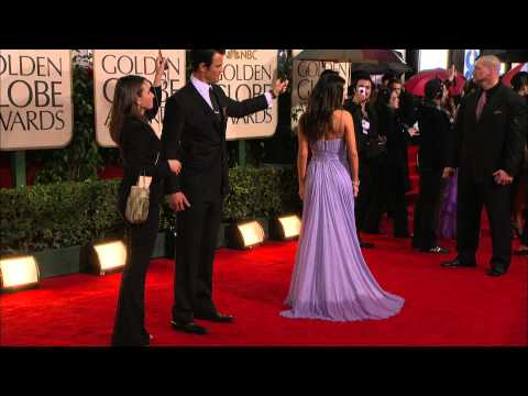 Golden Globes 2010 Fergie and Josh Duhamel