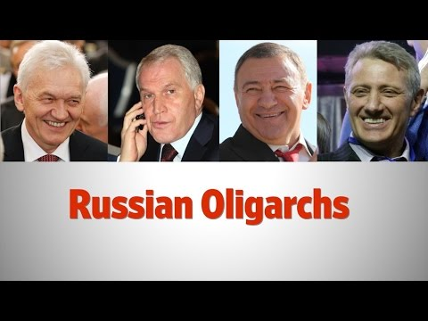 Who Are Russia's Sanctioned Oligarchs?