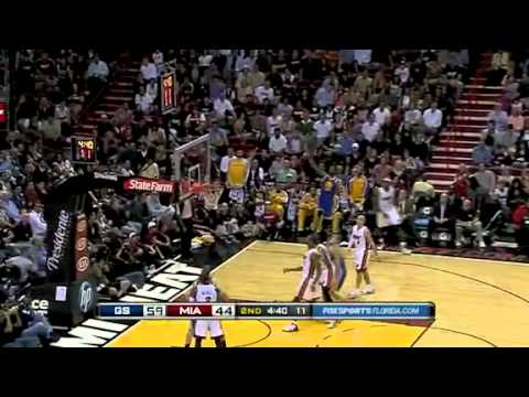 Miami Heat vs Golden State Warriors (114 - 107) January 1, 2011