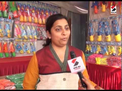 Sandesh News : Holi Preparation in Ahmedabad