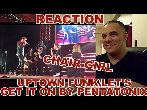 Pentatonix - Uptown Funk/Let's Get It On REACTION