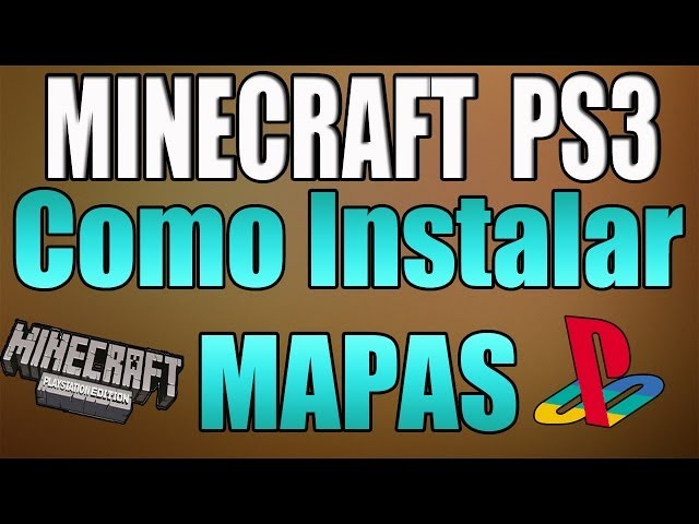 Minecraft PS3 - Como Descargar e Instalar MAPAS! en Minecraft Ps3 - How To Download and Upload Maps