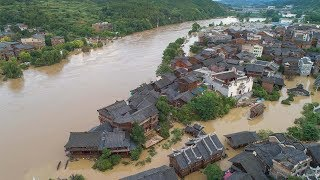 Torrential rains cause flooding in southern China