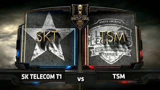 SKT vs TSM 2017 MSI Group Stage