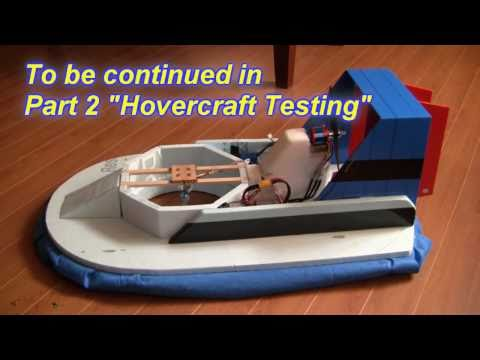 RC Hovercraft Part 1 (Building an RC Hovercraft)