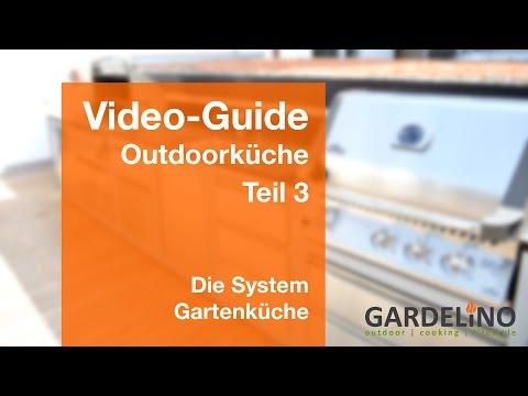 Outdoorküche Bauen - Die System Gartenküche (Teil 3)