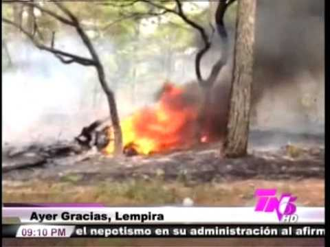 TVC TN5 Estelar-  Piloto predijo el accidente aéreo en Lempira