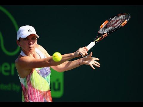 2016 Miami Open Third Round | Simona Halep vs Julia Goerges | WTA Highlights