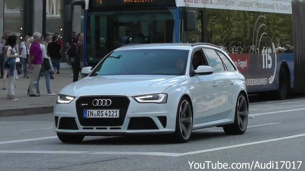 2013 audi rs4 avant white on the road full hd youtube. Black Bedroom Furniture Sets. Home Design Ideas