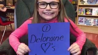 Deloraine School: I love to Read Winnipeg Jets Video