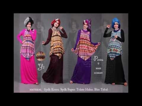 Model Baju Gamis Muslim Terbaru 2014