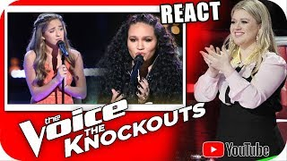 Download Lagu Brynn Cartelli vs Jamella - Kelly Clarkson Team The Voice 2018 KNOCKOUTS Gratis STAFABAND