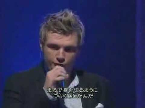 Backstreet Boys - Inconsolable (live in japan)