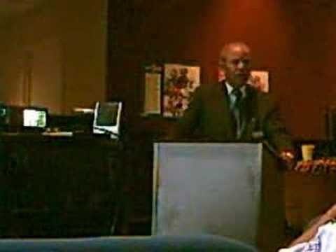 William Blair Jr speaks on Black History (1of3)