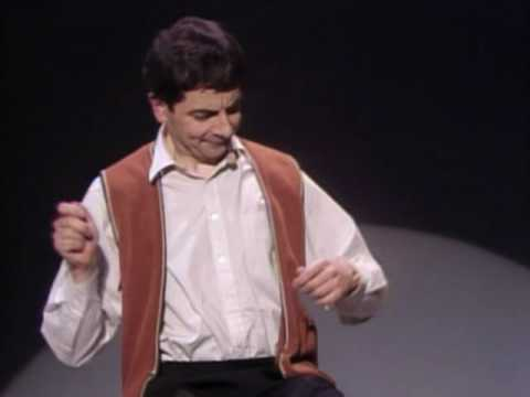 Rowan Atkinson Live - Star Of Mr.bean - Funny Invisible Drum video