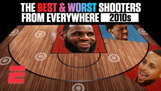 The best and worst NBA shooters of the 2010s from everywhere on the floor | NBA on ESPN