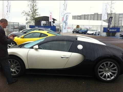 Syndicate&#039;s New Bugatti Veyron (Silverstone Visit)