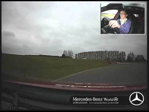 Ben's First Driving Lesson in a Mercedes at Silverstone